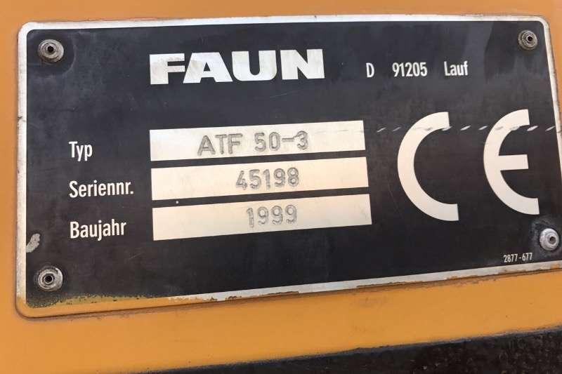 Tadano All terrain FAUN ATF 50 3 ALL TERRAIN CRANE Cranes