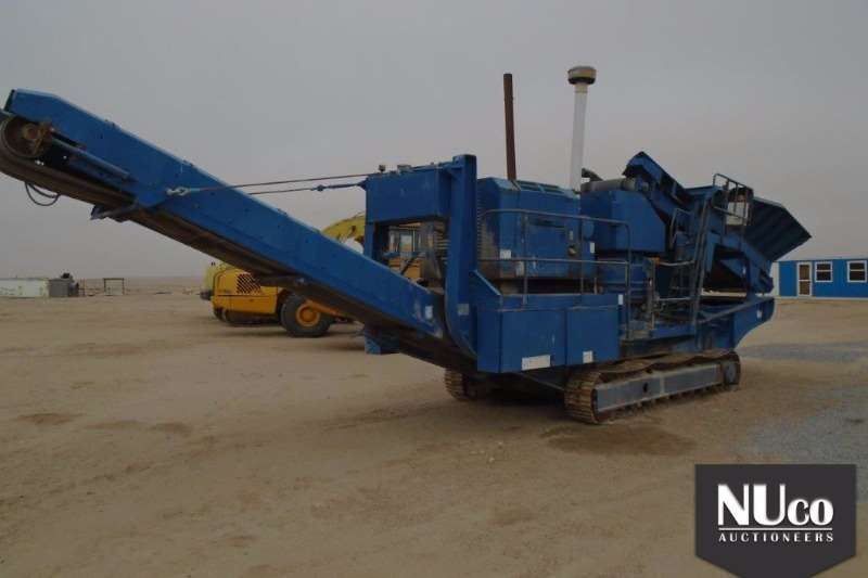 Crushers Terex TEREX PEGSON MAXTRACK 1000 MOBILE CONE CRUSHER 2007