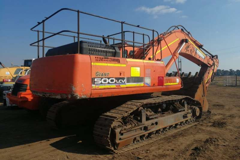 Doosan Solar 500LCV V Excavators