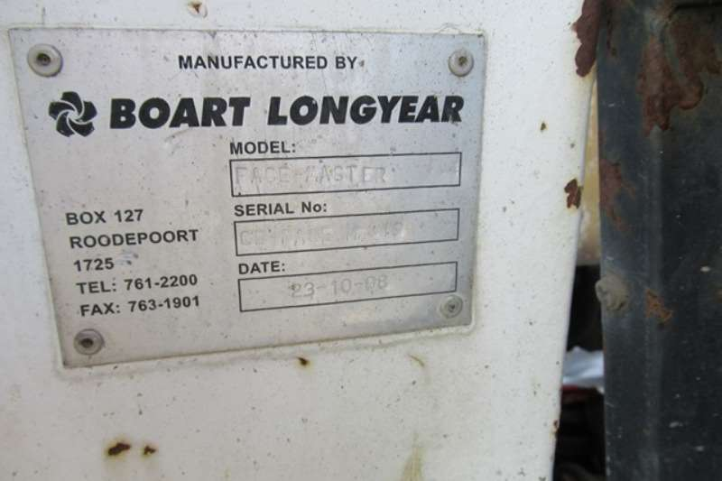 Aard/Boart Longyear Face Master Single Boom Drill Drill rigs