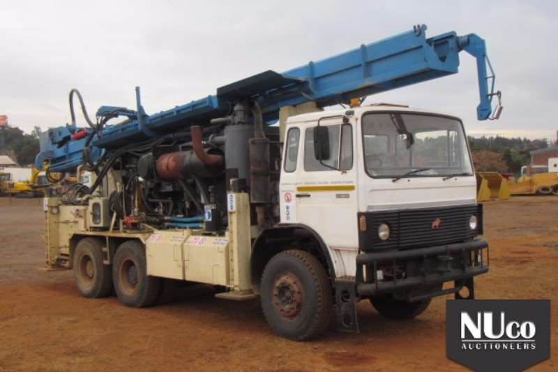 Drill Rigs Other Samag 280 F26 6x4 Hyperion 5000 Drill Rig + On-boa 0