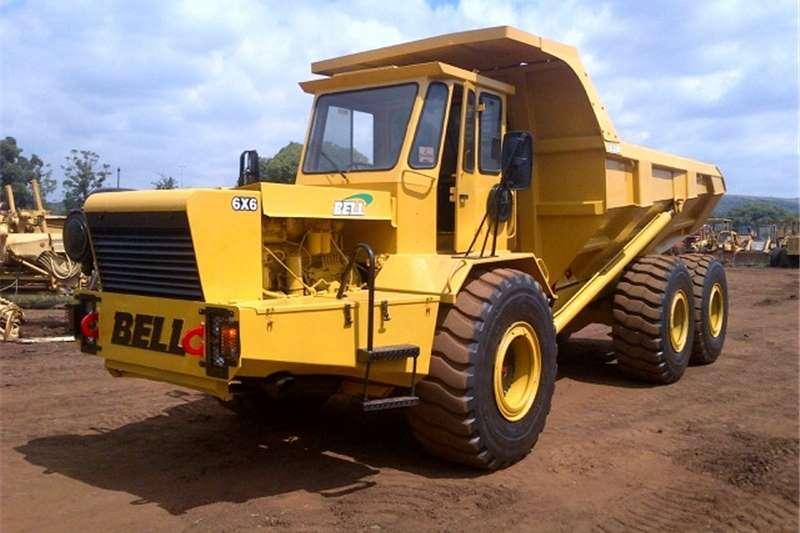 Dumpers Bell B30B 6X6 Dump Truck, Off highway truck 0