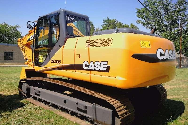Excavators Case CX210 2006