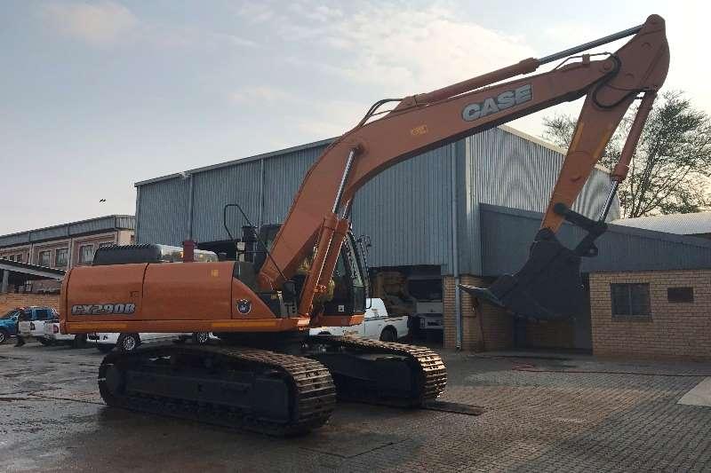 Excavators Case Used, CX290B