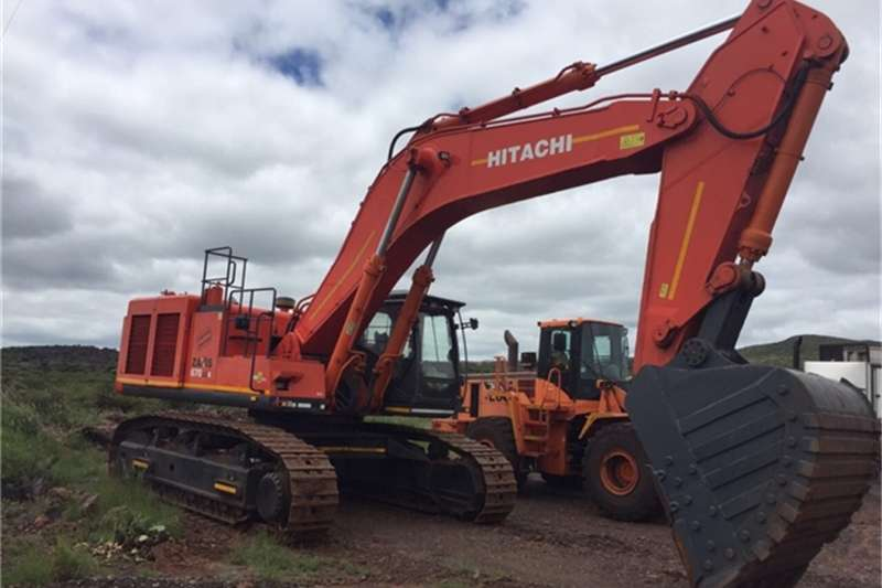 Excavators Hitachi 2008