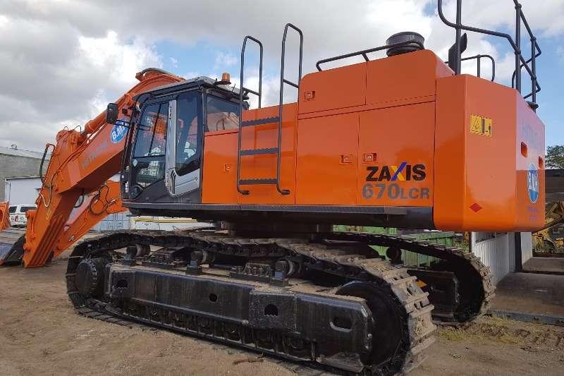 Hitachi ZX670LCR 3 Excavators