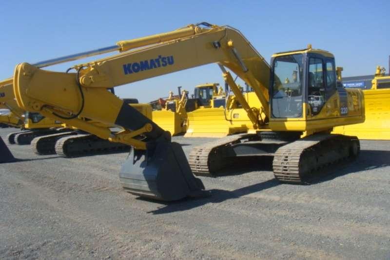 Excavators Komatsu PC220-7 2003