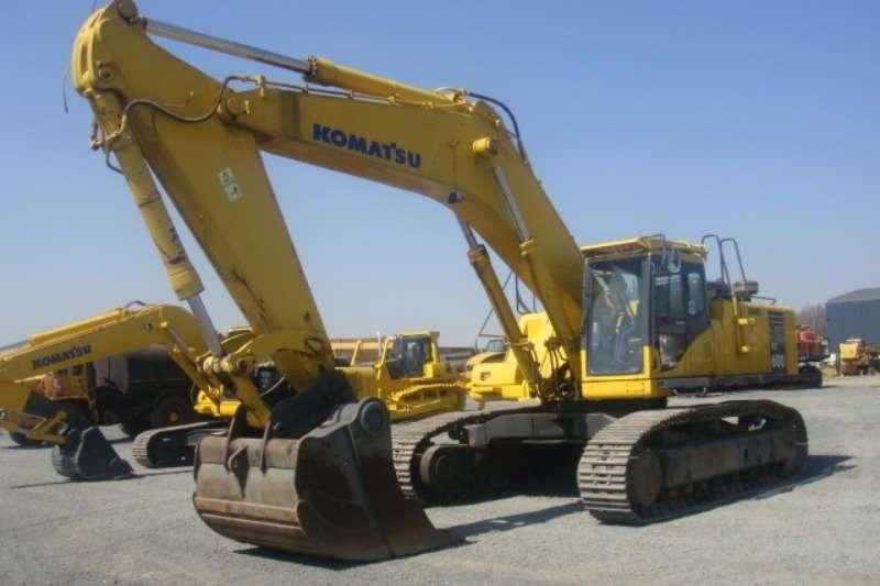 Excavators Komatsu PC600-7 2004