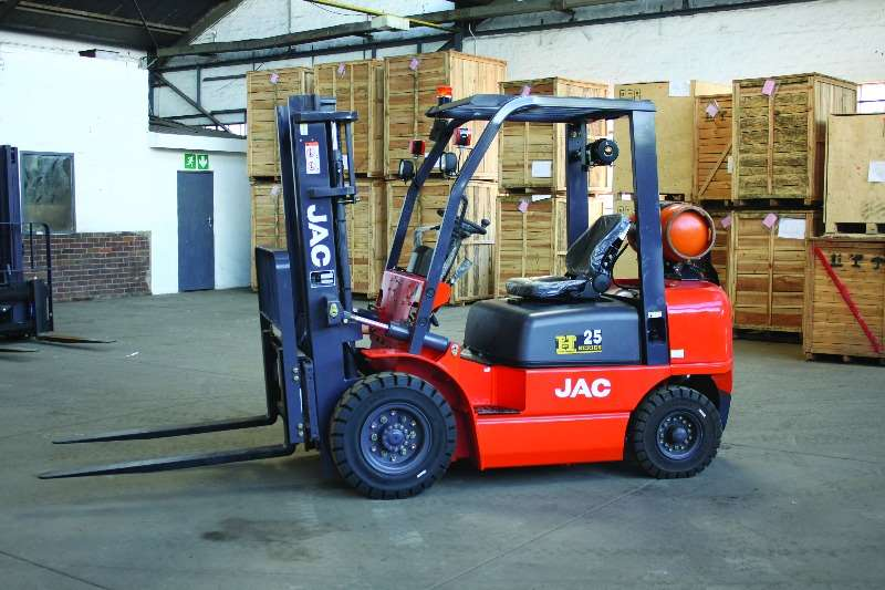 Forklifts JAC Electric Forklift NEW 2.5TON GAS F/LIFT CPYD25 0