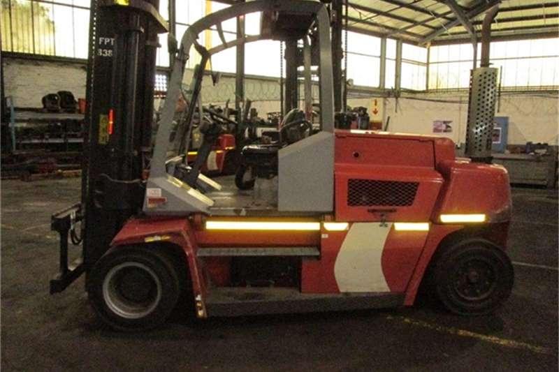 Forklifts Konecranes KALMAR- DCE80-9  0