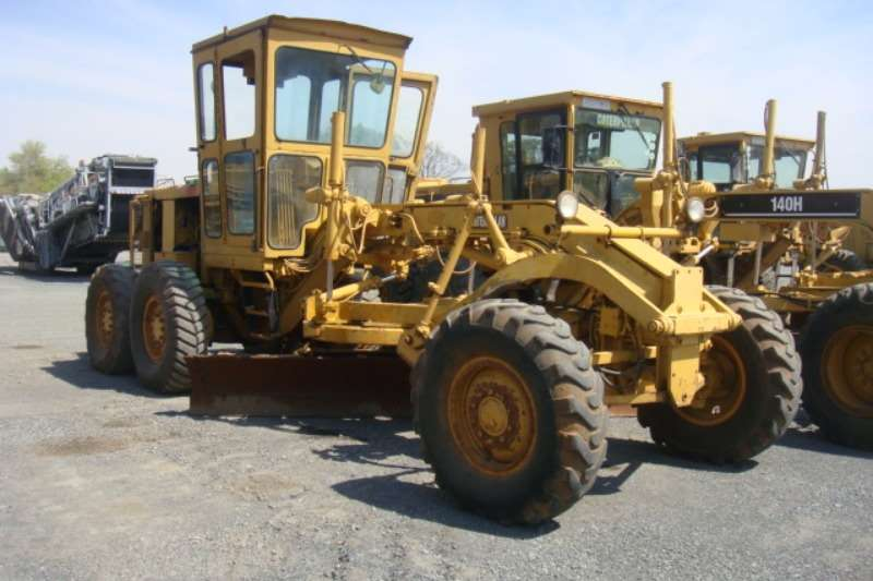 Graders Caterpillar 120G 1981