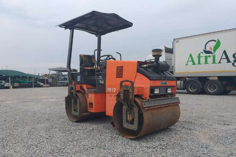 Hamm Roller 2005 Hamm HD 12 Smooth Drum Roller R145000 plus va 2005