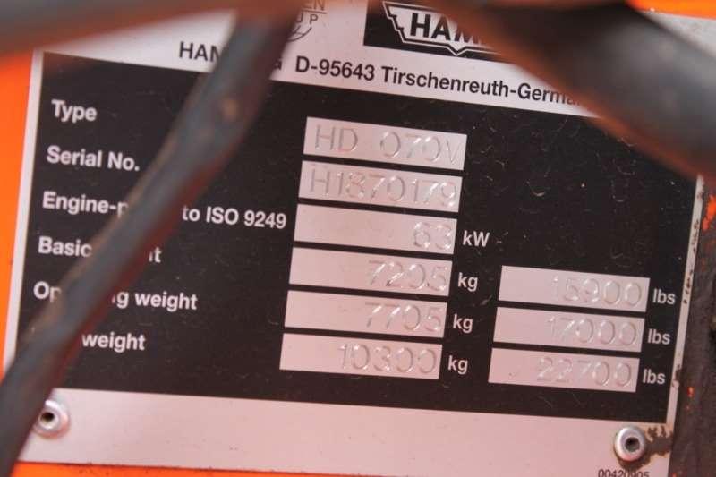 Hamm CA270 Roller