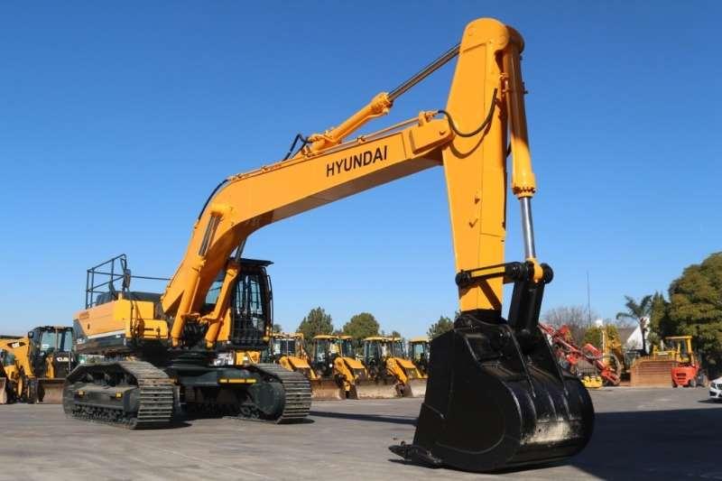 Hyundai Robex R520LC 9S Excavator Excavators