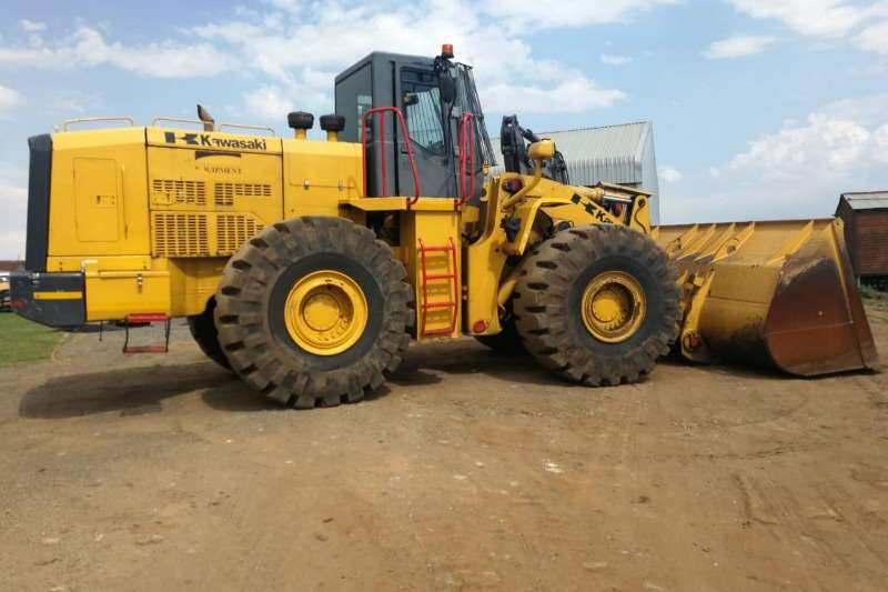 Kawasaki 95 ZF 6 Cube Bucket with built in Scale Loaders