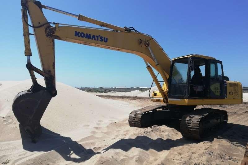 Komatsu PC 200 7 Excavators