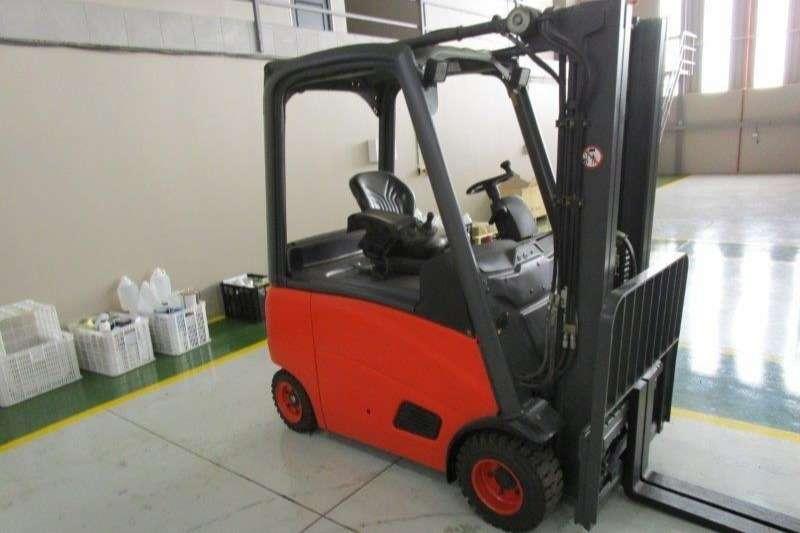 Linde Electric forklift E20PH2.0 Ton Forklifts