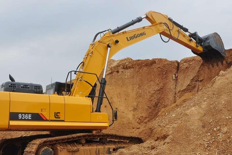 Liugong CLG936E Excavator Excavators