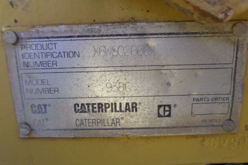 Caterpillar Caterpillar 938G Breaking for parts 6WS02666 Loaders