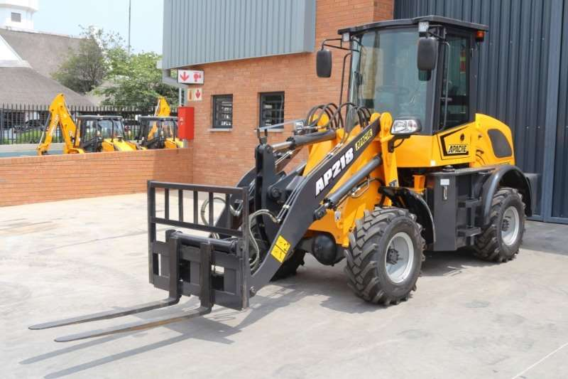 Loaders Other Apache AP218 Wheel Loader with Attachments 0
