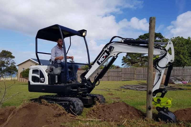 MCM 18D Excavators