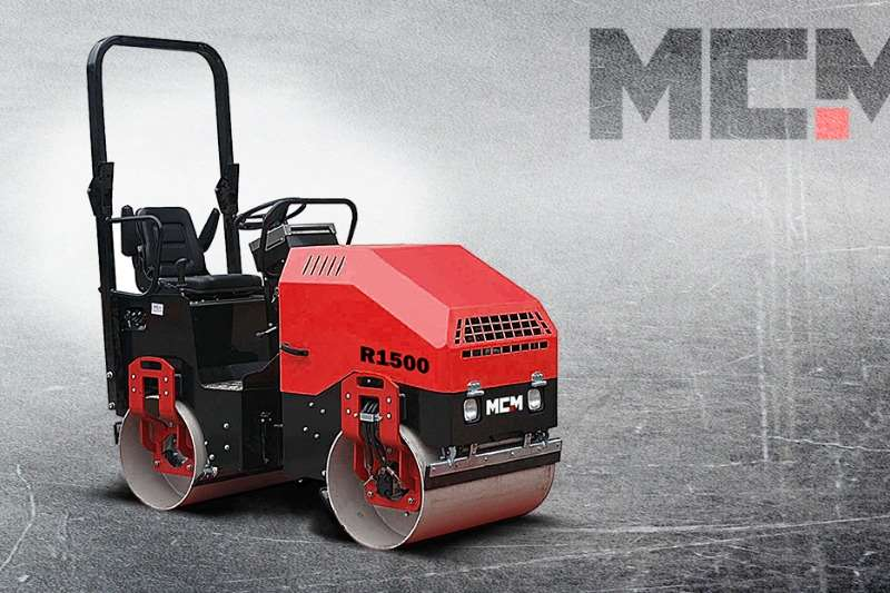 MCM Vibratory roller R1500   1.5TON Ride On Roller Rollers