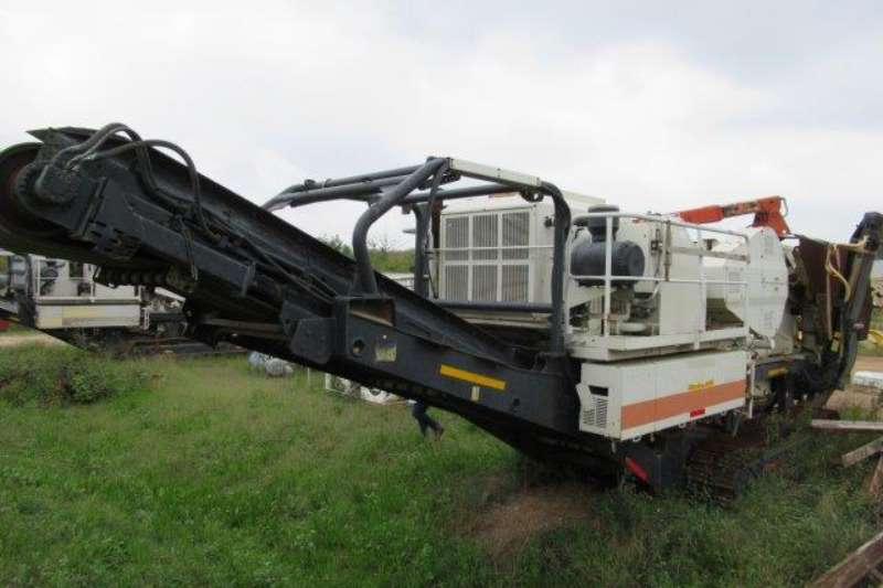 Crushers Metso Metso Lokotrack LT106 Mobile Jaw Crusher
