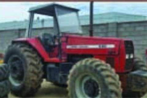 MF 680 4WD 7026 Hours- 2007