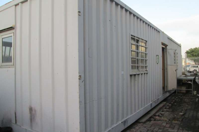 Containers Office Container 6m container with vice