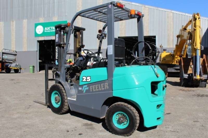 Other Forklifts Feeler 2.5Ton Dual Fuel (Gas/Petrol) Forklift