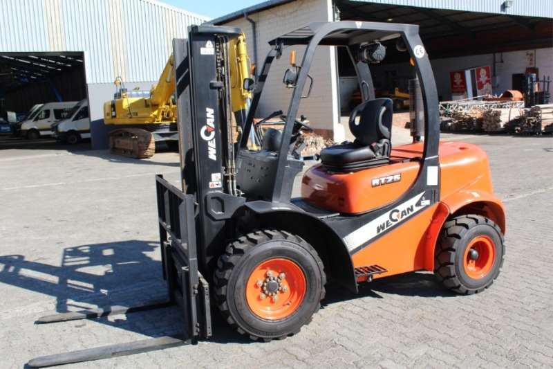 Other Forklifts Wecan RT25 2.5Ton Rough Terrain Forklift