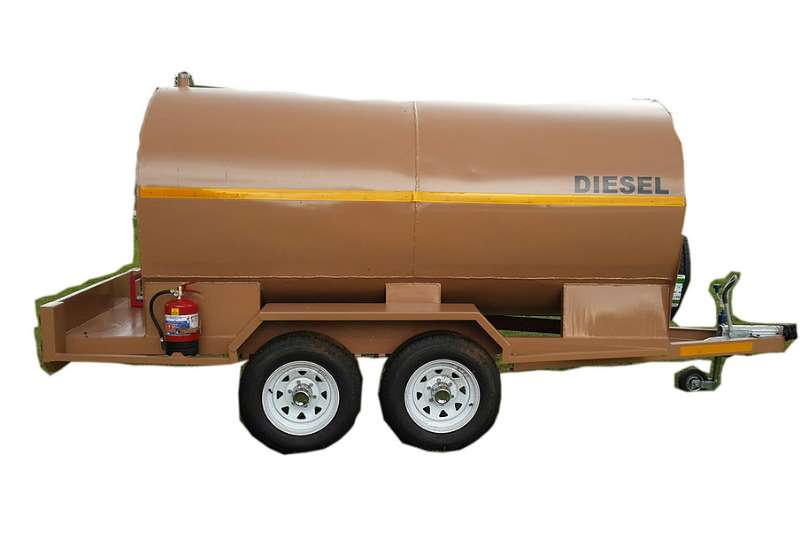 Other 5000 Liters Diesel Bowers Fuel tankers