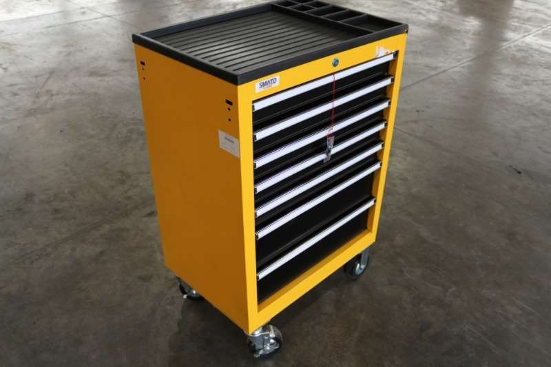 Other Others Smato 7 Drawer Steel Tool Box with Tools