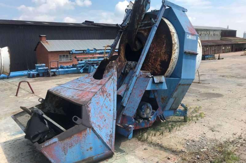 Other WINGET 750 L CONCRETE MIXER Others