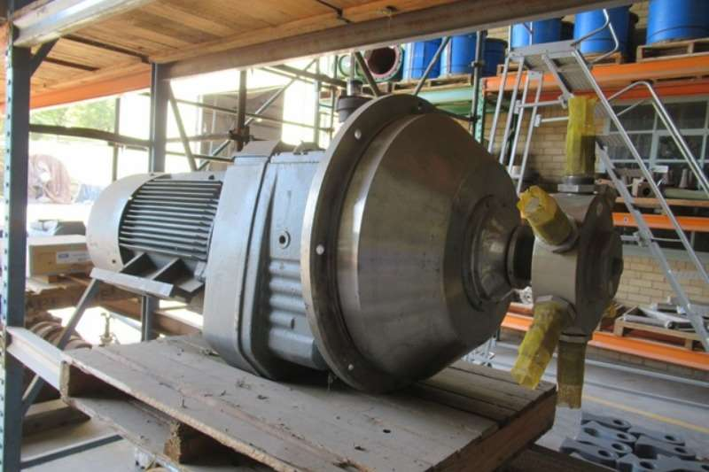 Plant Spares Other Marathon 90kW, 4 Pole, 525V, Geared Electrical Mot