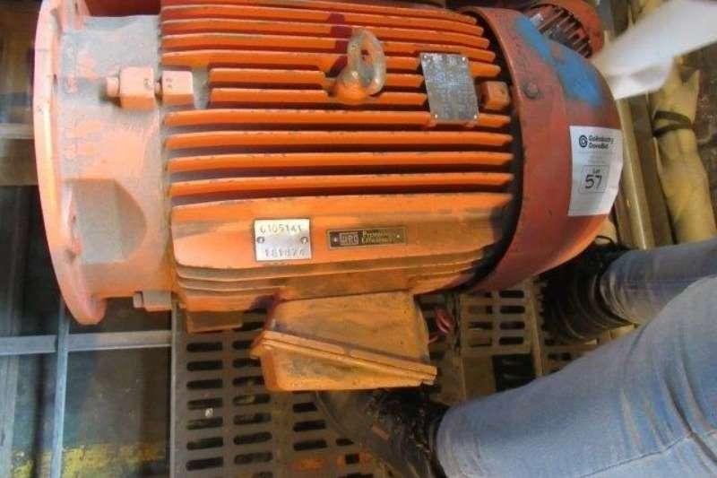 Plant Spares Other WEG 15 kW, 6 Pole, 525 V Flange & Foot Mounted Ele