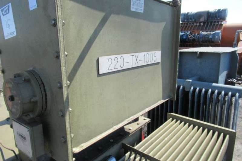 Alstom 1 600kVA,11 000v Hv,400v Lv Transformer Others