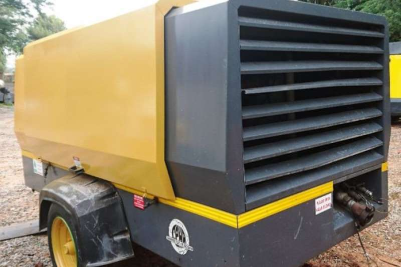 Atlas Copco 850CFM 8 BAR Mobile  Air Compressor Others