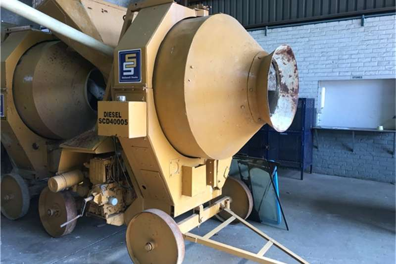 Diesel CONCRETE MIXER Others