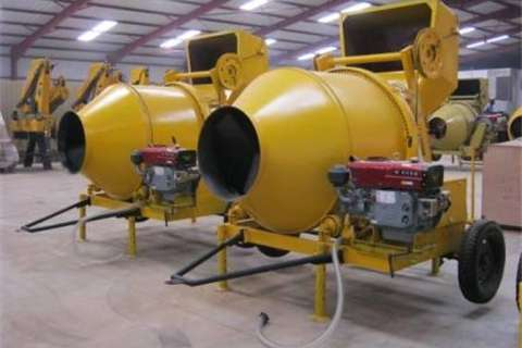 Others Other 800Kg Diesel Concrete Mixer with Cable skip 2017