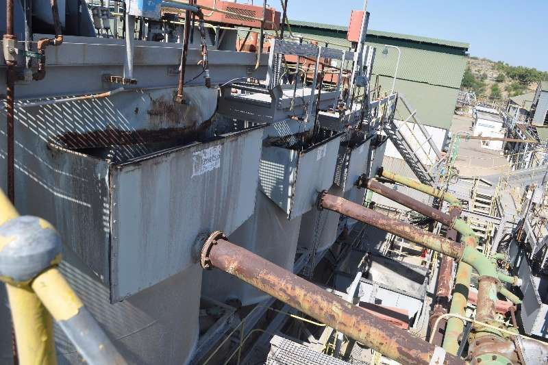 Other Metso Flotation Plant 16 x 10cube cells and 4 x 30 Others