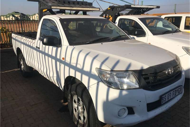 Toyota HILUX 2.5 SINGLE CAB SRX 4X4 Others