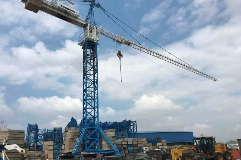 Potain Cranes MC310 TOPKIT, 57,5m under hook 2005