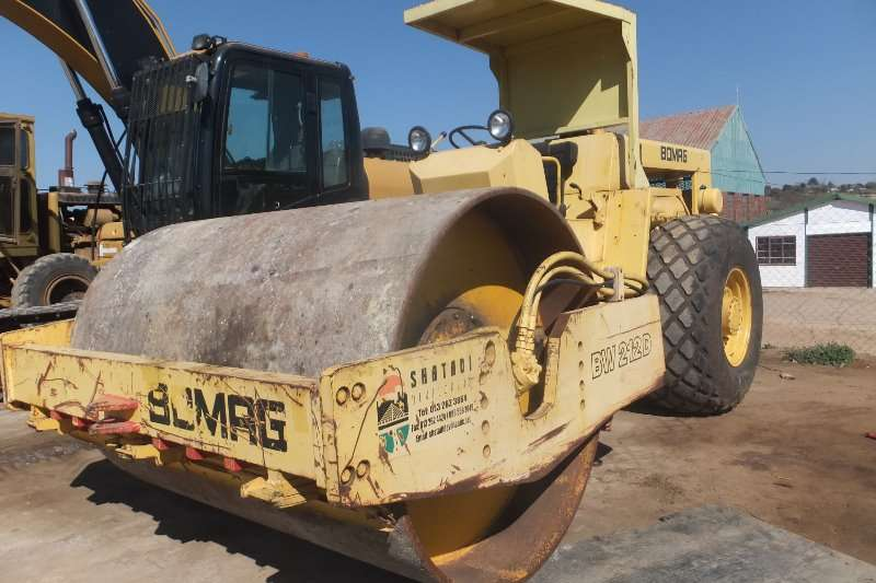 Rollers Bomag BW212D 0