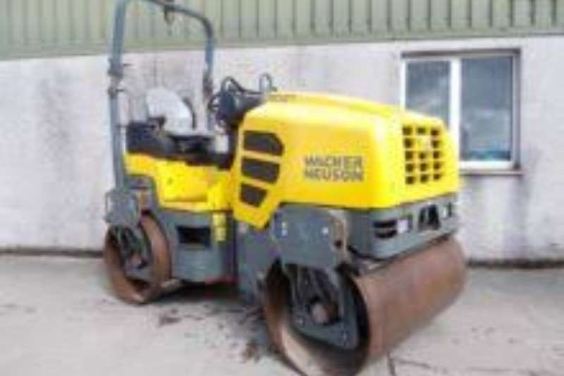 Rollers Bomag ROLLERS - SIT ON 120'S - CAT - WACKER - BOMAG