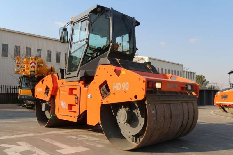 Rollers Hamm HD90 Double Drum Roller 2013