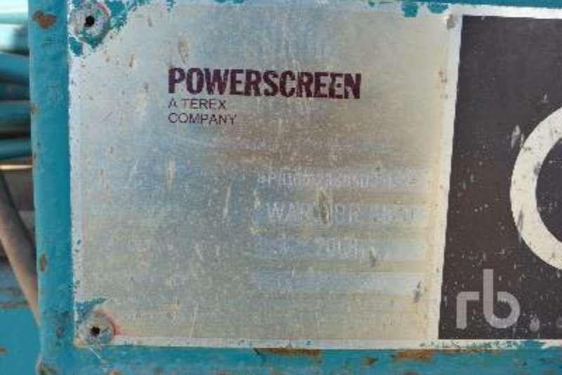 Powerscreen Warrior Screeners