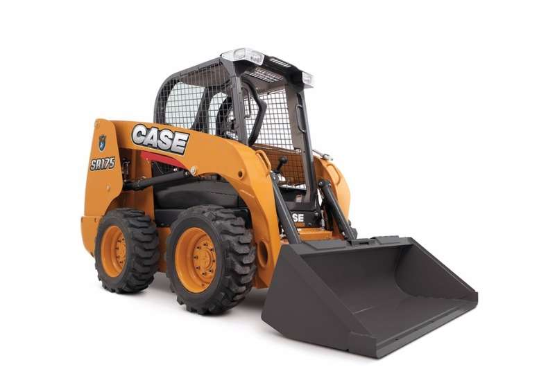 Case New, SR 175 Skidsteer loader