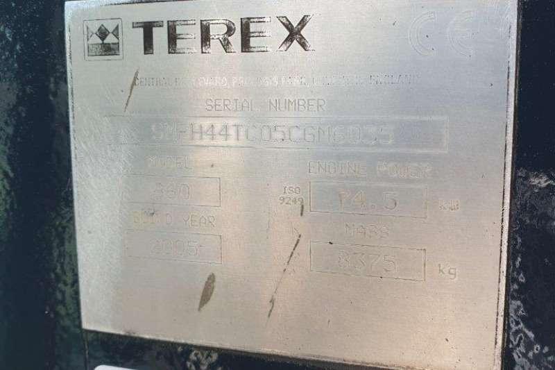 Terex 860SX TLB TLBs