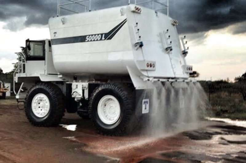 Terex 50000 to 120000L Water bowsers Water tankers